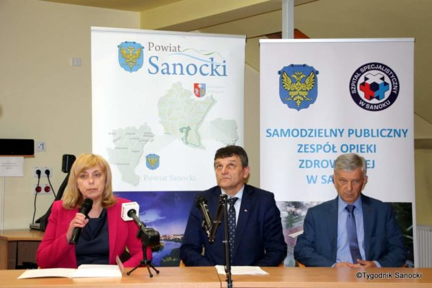 szpital sanok konferencja 10 630x420 - O kondycji sanockiego szpitala