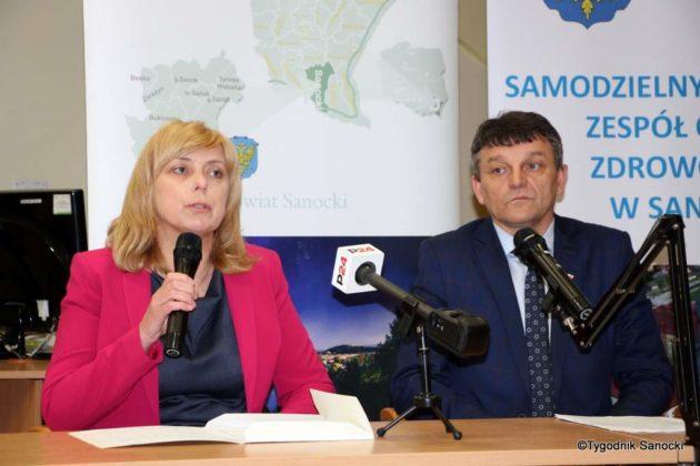 szpital sanok konferencja 12 630x420 - O kondycji sanockiego szpitala