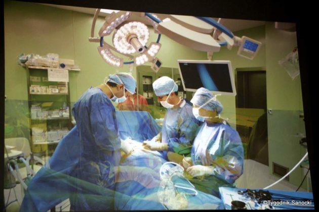 szpital sanok konferencja 3 630x420 - O kondycji sanockiego szpitala
