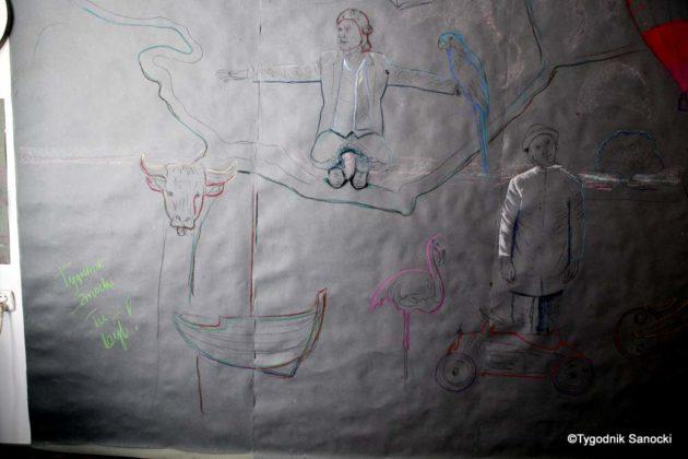 Art Of Road w Sanoku 14 630x420 - Sanoccy artyści ponownie otworzyli drzwi swoich pracowni