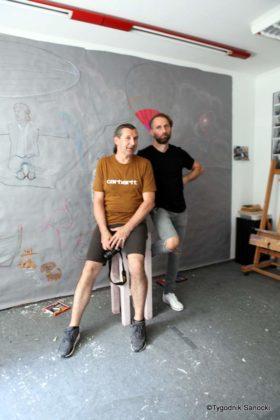 Art Of Road w Sanoku 19 280x420 - Sanoccy artyści ponownie otworzyli drzwi swoich pracowni