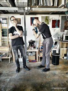 Art Of Road w Sanoku 3 225x300 - Sanoccy artyści ponownie otworzyli drzwi swoich pracowni