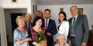 Honorowe Obywatelstwo dla Janiny Szombary