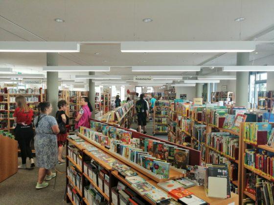 Księgarnia 560x420 - Drugi dzień wizyty sanoczan w Reinheim