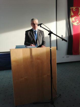 Oficjalne uroczystości 315x420 - Drugi dzień wizyty sanoczan w Reinheim