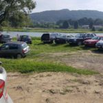 Interwencja - parkowanie nad Sanem