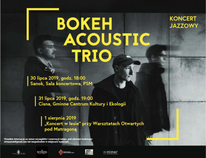 Muzyczne powroty: Bokeh Acoustic Trio Przemysława Pankiewicza