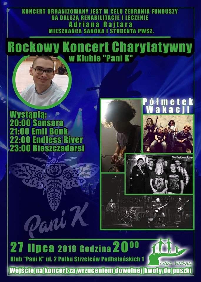 Rockowy Koncert Charytatywny w Pani K