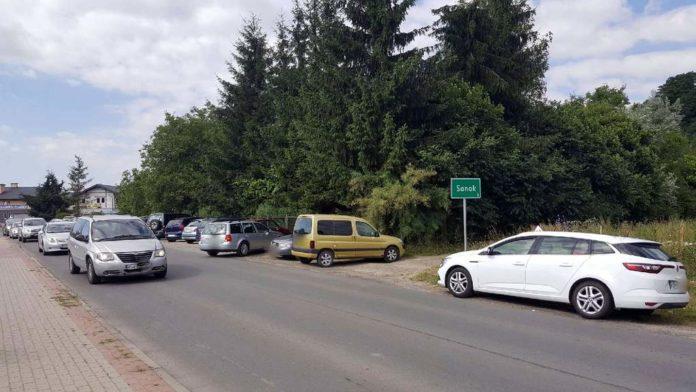 Parkowanie nad Sanem. Interwencja