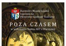 POZA CZASEM Plenerowy Spektakl Teatralny
