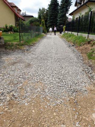 wizja w terenie Sanok 4 315x420 - Miasto remontuje drogi