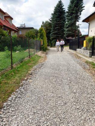 wizja w terenie Sanok 6 315x420 - Miasto remontuje drogi