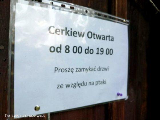 Najstarsza cerkiew w Bieszczadach. Wieś Polana w gminie Czarna zasługuje na szczególną uwagę