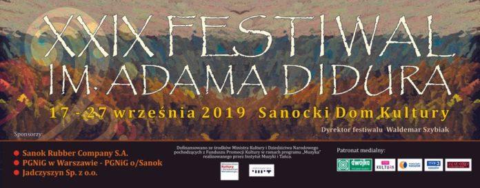Program XXIX Festiwalu im. Adama Didura