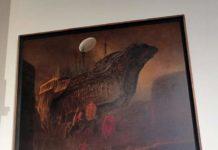 """W piątek 16 sierpnia wMuzeum Historycznym wSanoku rozpoczął się """"Długi weekend zBeksińskim"""" – impreza, poprzez którą rodzinne miasto malarza upamiętnia 90. rocznicę jego urodzin."""