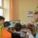 """Dzieci z wizytą w """"Tygodniku Sanockim"""""""