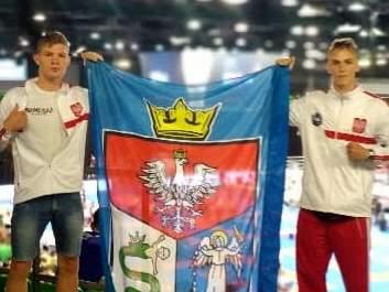 Adam Tutak i Miłosz Baran zawodnicy Klubu Samuraj Trans - San Sanok półfinalistami Mistrzostw Europy w Kickboxingu