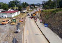 Raport z budowy obwodnicy Sanoka – zaawansowanie robót 80%