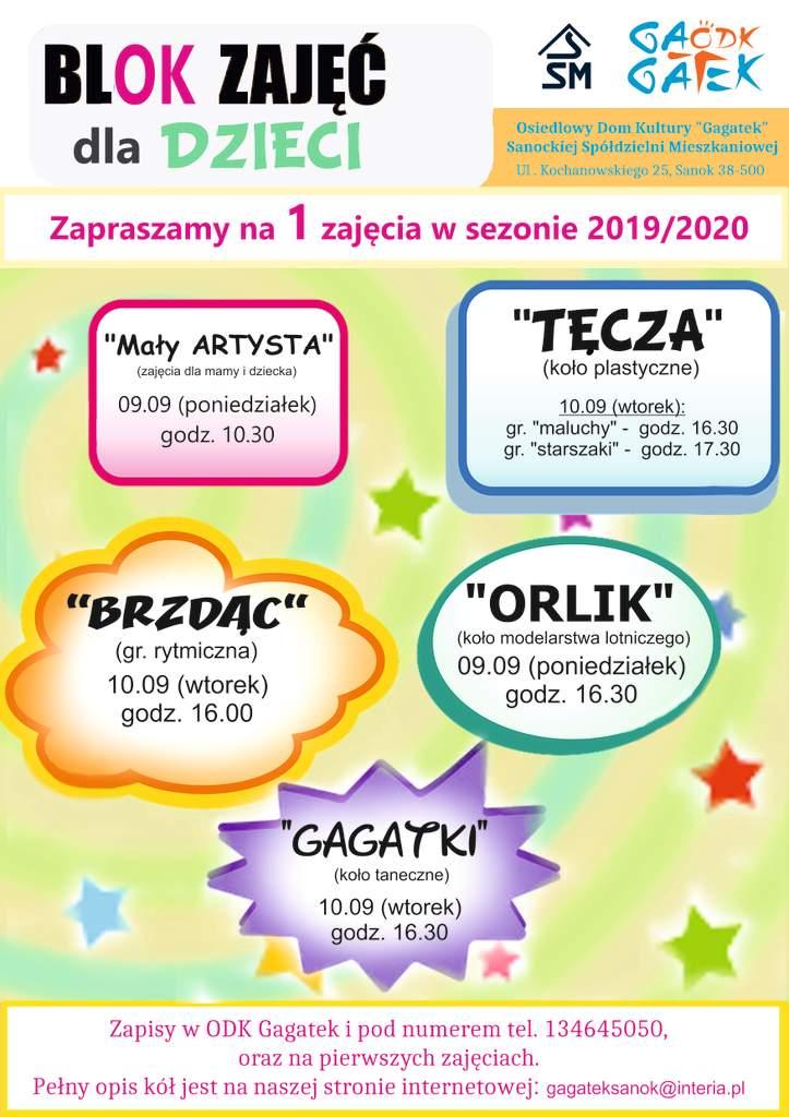 plakat blok dla Dzieci JPG - Tygodnik Sanocki