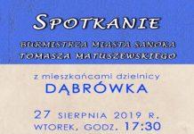 Spotkanie z mieszkańcami Dąbrówki