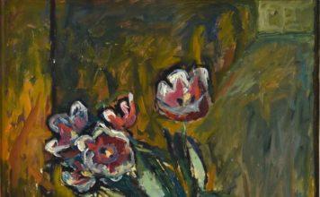 """Józef Czapski, """"Tulipany"""", 1956"""