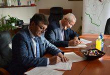 Podpisanie umowy z wykonawcą dróg