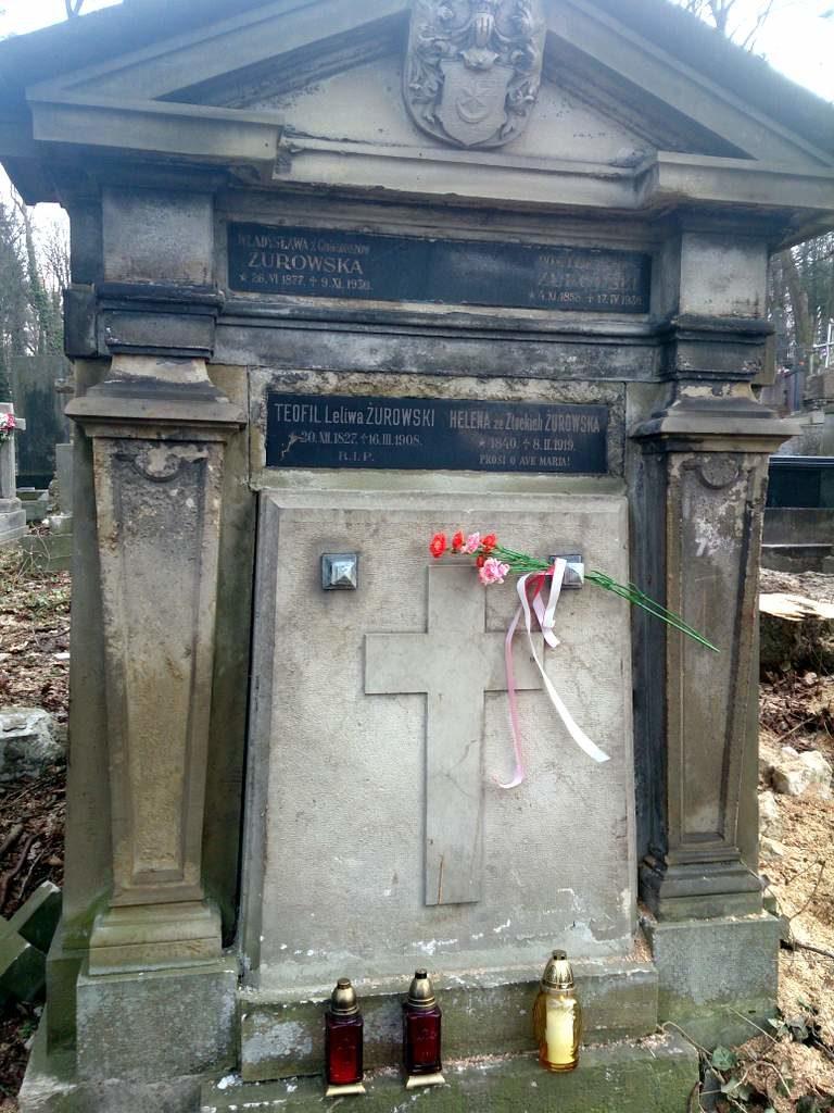 Grobowiec Żurowskich naŁyczakowie 768x1024 - Helena Żurowska wreszcie uhonorowana