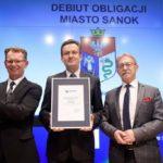 Debiut obligacji komunalnych wyemitowanych przez Gminę Miasta Sanok