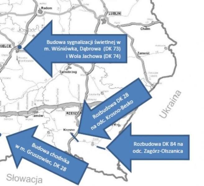 gddkia inwestycja 1 - Drogi krajowe w regionie zostaną rozbudowane