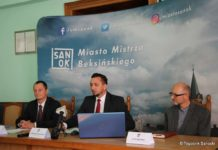 Konferencja prasowa w urzędzie miasta