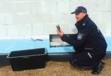 Kamień węgielny wmurowany pod posterunek policji