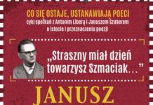 Antoni Libera opowie otwórczości Janusza Szpotańskiego