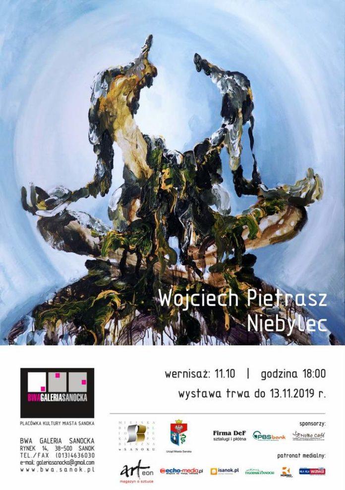 Niebylec - wystawa Wojciecha Pietrasza