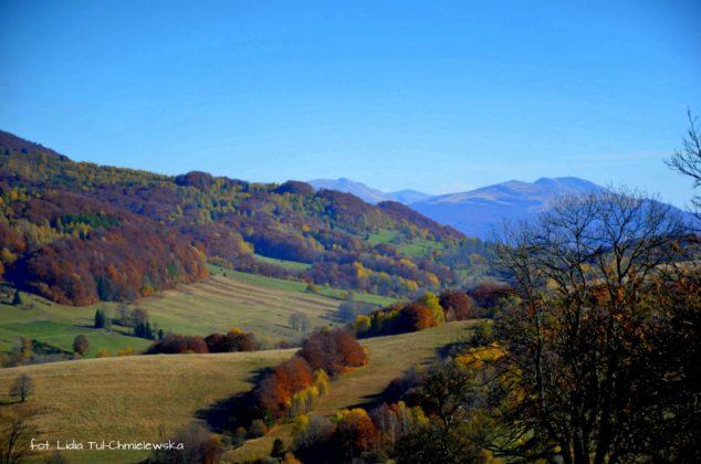 W tle Tarnica 634x420 - Jesień w Bieszczadach - fotogaleria