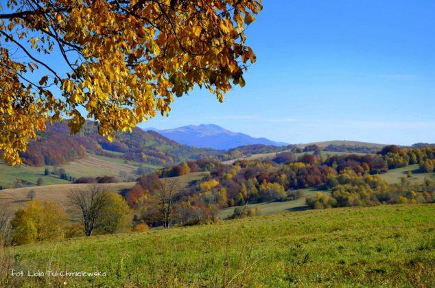 Z Przełęczy Wyżnej 634x420 - Jesień w Bieszczadach - fotogaleria