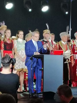 Z wizytą w Krakowie 12 315x420 - Sanoczanie gośćmi Konsula Generalnego Niemiec
