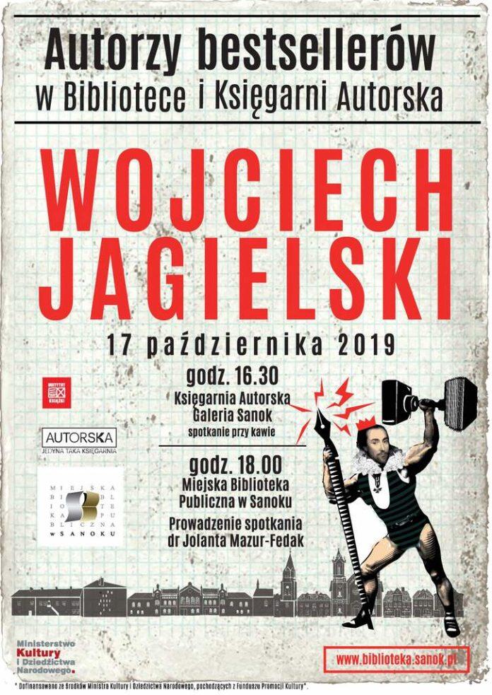 Spotkanie z Wojciechem Jagielskim - zaproszenie