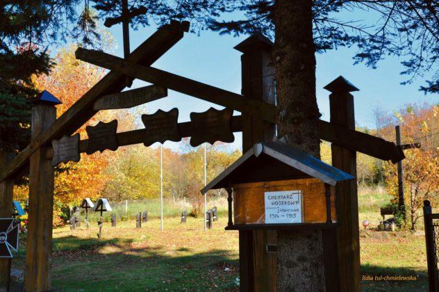 cmentarz lesko 1 632x420 - Cmentarz wojskowy w Lesku