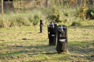 Cmentarz wojskowy w Lesku
