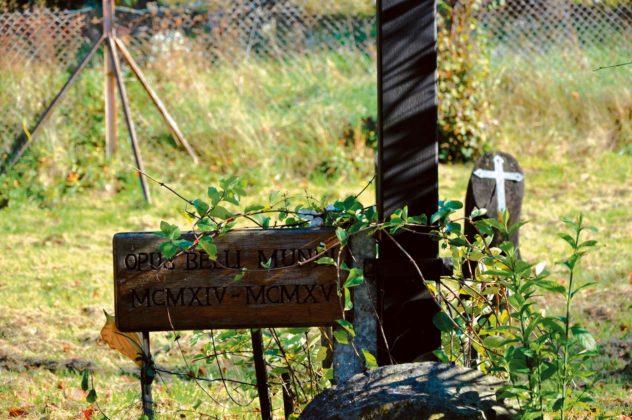 cmentarz lesko 5 632x420 - Cmentarz wojskowy w Lesku