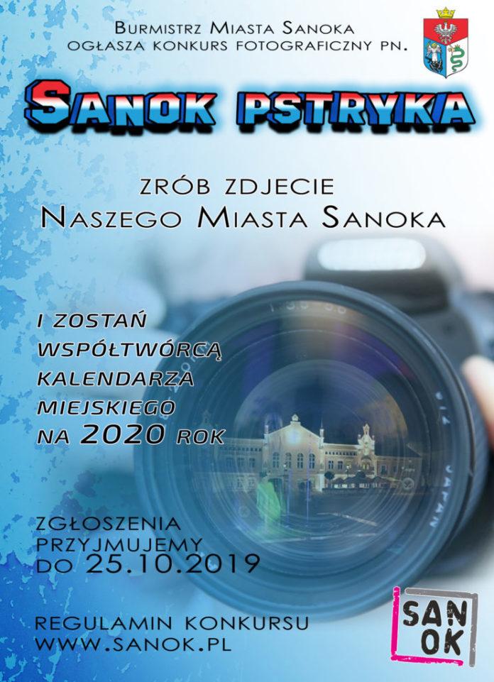 Fotografia to twoja pasja? Weź udział w konkursie i zostań współtwórcą sanockiego kalendarza!