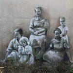 Ślady historii na muralach