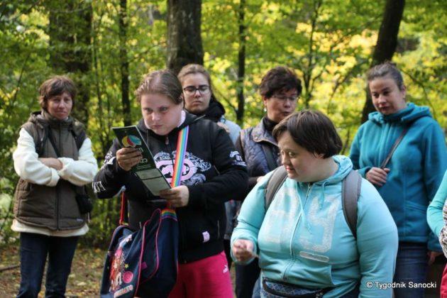 otaczarnia 10 630x420 - Otaczarnia – jesienna wyprawa podopiecznych Sanockiego Stowarzyszenia na Rzecz Osób Niepełnosprawnych Intelektualnie