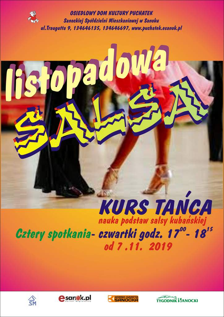 salsa afisz 2019.. - Tygodnik Sanocki