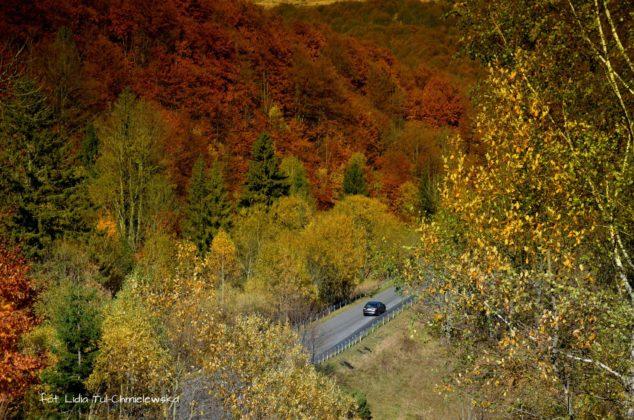 serpentyny bieszczadzkie 634x420 - Jesień w Bieszczadach - fotogaleria
