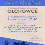 Burmistrz Tomasz Matuszewski zaprasza na spotkanie mieszkańców Olchowiec