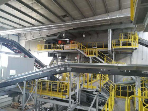 4 560x420 - W Zakładzie Unieszkodliwiania Odpadów w Krośnie prowadzone są intensywne prace modernizacyjne