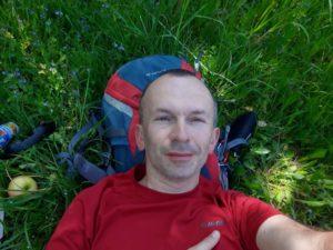 Aleksander Bąk 3 300x225 - Camino w sandałach na szlaku Jakubowym