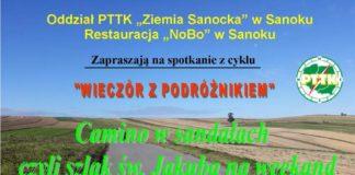 """Aleksander Bąk. """"Wieczór z podróżnikiem"""" - zaproszenie"""