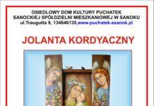 Malarstwo Jolanty Kordyaczny. Wernisaż 7 grudnia wODK Puchatek